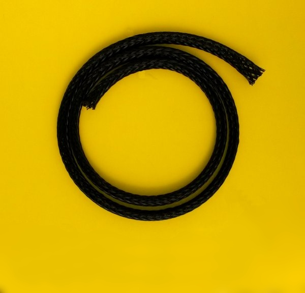 Grease Fitting Extenders : Braided hose protector for grease extension hoses